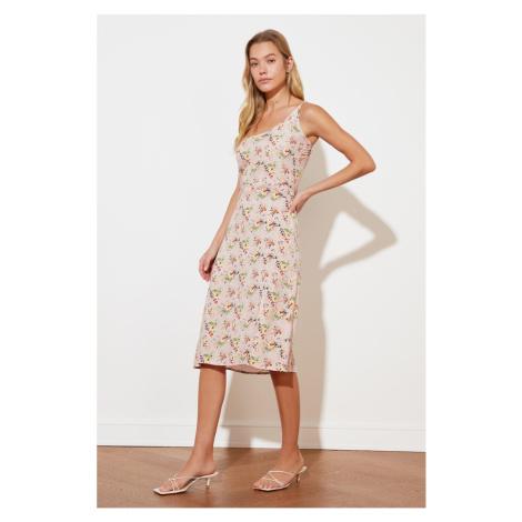 Trendyol Pink One Shoulder Dress