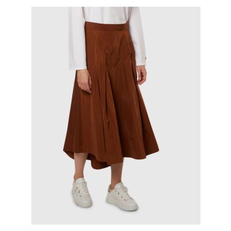 Sukně La Martina Woman Taffeta' Skirt - Hnědá