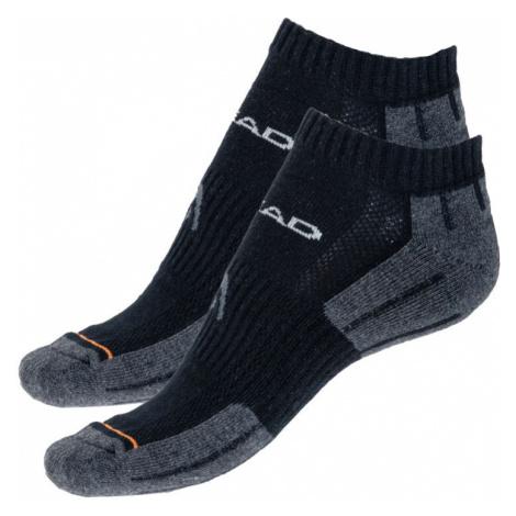 2PACK ponožky HEAD černé (741017001 200) L