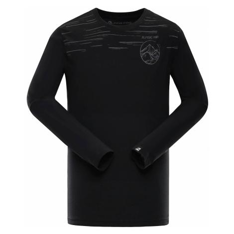 Pánské triko Alpine Pro NASIR 2 - černá