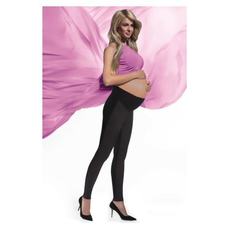 Černé těhotenské legíny Ami 200DEN Bas Bleu