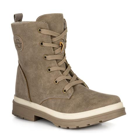 SANGRI women's winter boots brown LOAP