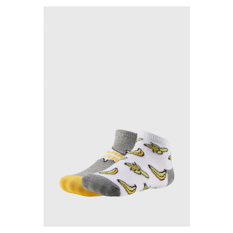 2 PACK chlapeckých ponožek Bananas Ysabel Mora