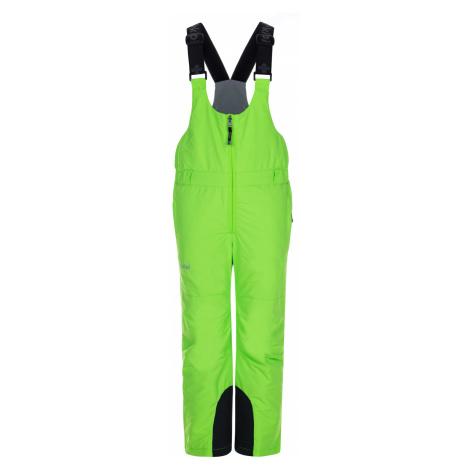 KILPI Dětské lyžařské kalhoty DARYL-J LJ0003KIGRN Zelená