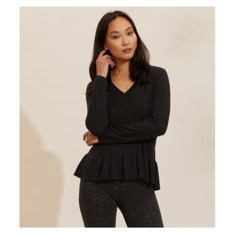 Svetr Odd Molly Aurora Sweater - Černá