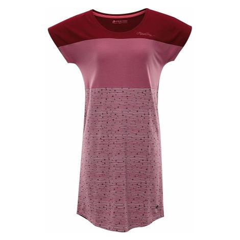 Dámské šaty Alpine Pro CLEYA - fialová