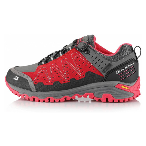 Outdoorová obuv Alpine Pro CHEFORNAK - červená
