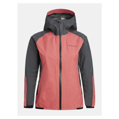 Bunda Peak Performance W Pac Jacket - Růžová