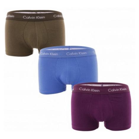 3PACK pánské boxerky Calvin Klein vícebarevné (U2664G-WHF)
