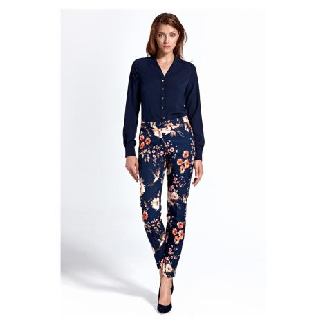 Colett Woman's Blouse Cb23 Navy Blue