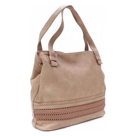Růžová moderní dámská kabelka Aiglentina Mahel