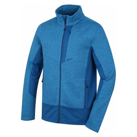 Husky Alan M, tm. modrá Pánský fleecový svetr