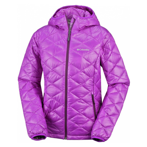 Bunda Columbia Trask Mountain 650 TurboDown™ Hooded Jkt W - fialová