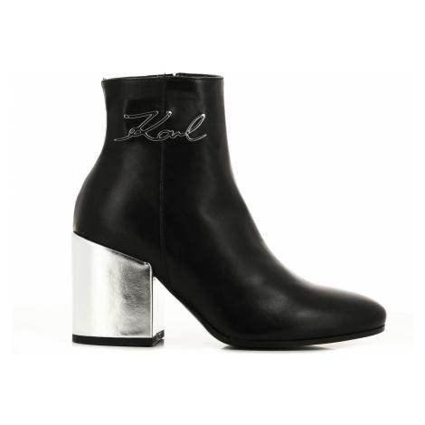 Kotníková Obuv Karl Lagerfeld Lavinia Signia Ankle Boot - Různobarevná
