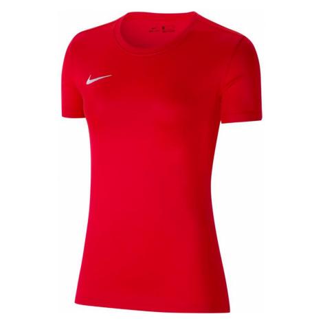 Dámské tričko Nike Dry Park VII Červená / Bílá
