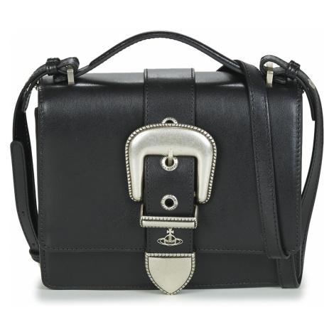 Vivienne Westwood RODEO SMALL SHOULDER BAG Černá