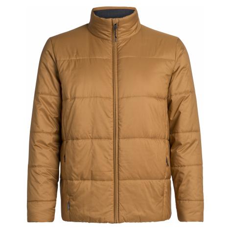 Pánská bunda ICEBREAKER Mens Collingwood Jacket, TAWNY Icebreaker Merino