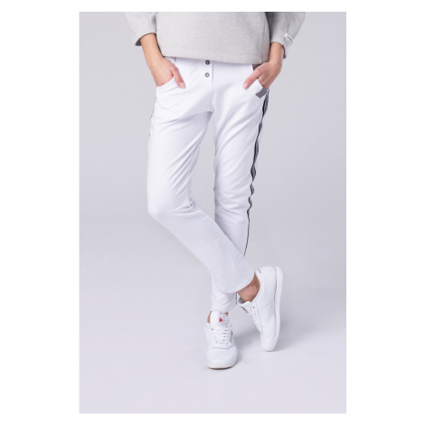 Look Made With Love Woman's Trousers 603L Let's stripe