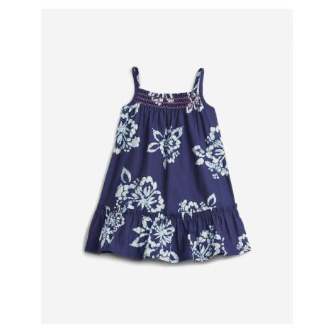 Smocked Floral Šaty dětské GAP