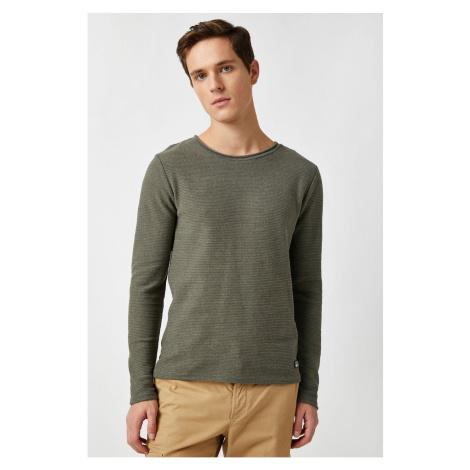Koton Men's Khaki Sweater