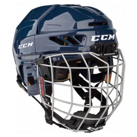 CCM FITLITE 3DS COMBO YT modrá - Dětská hokejová helma