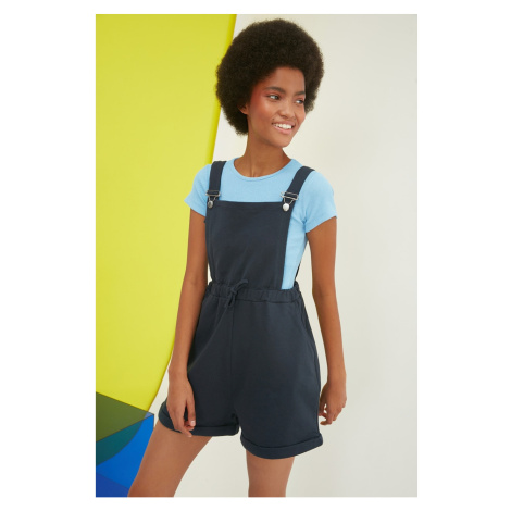 Trendyol Navy Blue Knitted Overalls