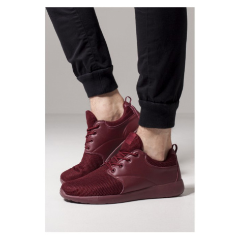 Urban Classics Light Runner Shoe burgundy/burgundy