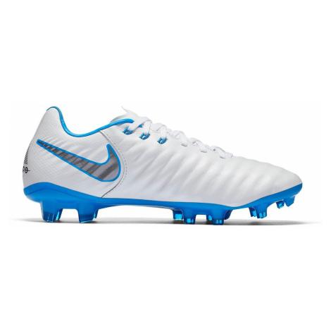 Dětské kopačky Nike Tiempo Legend 7 Elite FG Bílá / Modrá