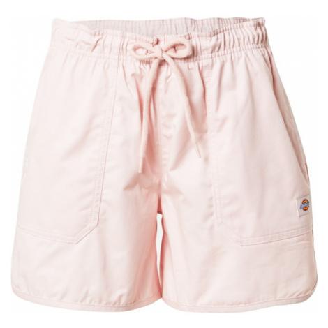 DICKIES Kalhoty 'VICTORIA' pastelově růžová