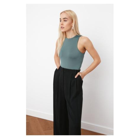 Trendyol Mint Snap Knitted Body