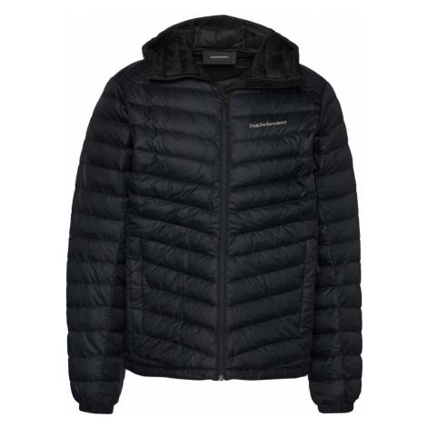 Bunda Peak Performance Frost Down Hood Jacket - Černá