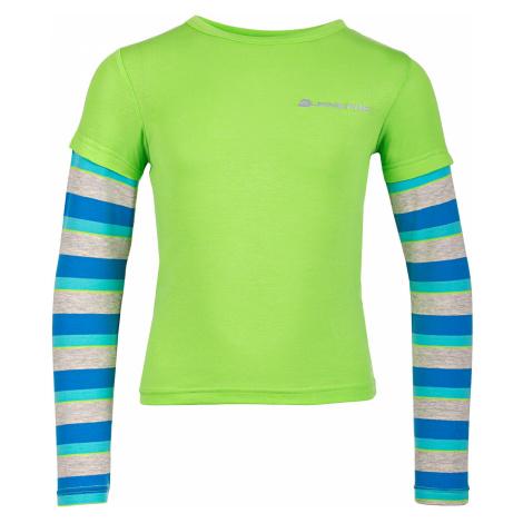 Dětské triko Alpine Pro DILILO 2 - zelená