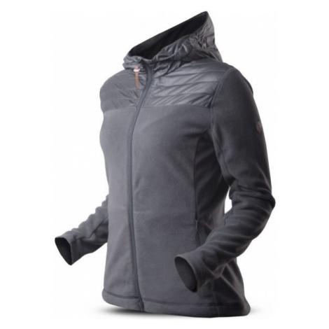 TRIMM ROTTA tmavě šedá - Dámská fleecová bunda