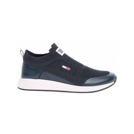 Tommy Hilfiger Pánská obuv EM0EM00664 C87 twilight navy Modrá