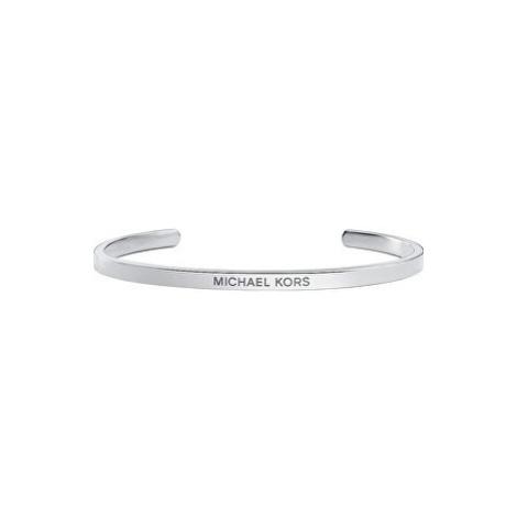 Michael Kors Otevřený stříbný náramek MKC1116AA040