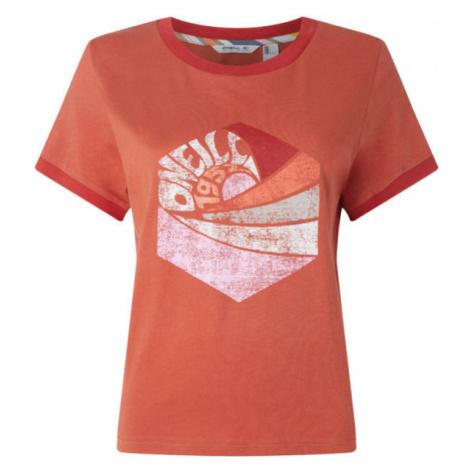 O'Neill LW KATIE T-SHIRT červená - Dámské tričko