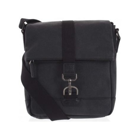 Hexagona Pánská taška přes rameno černá - Bennio Černá