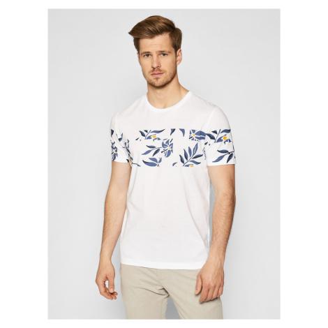 Tommy Hilfiger pánské bílé triko Floral Print