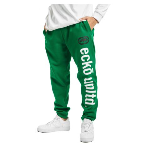 Ecko Unltd. kalhoty pánské Sweat Pant 2Face in green