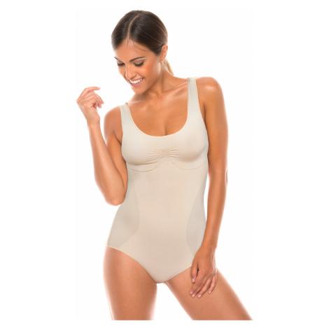 Body dámské stahovací bezešvé Body spalla larga Bodyeffect Oro