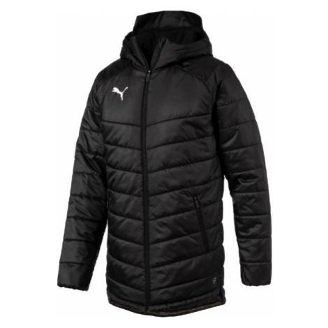 Puma LIGA SIDELINE BENCH JACKET černá - Pánská zimní bunda