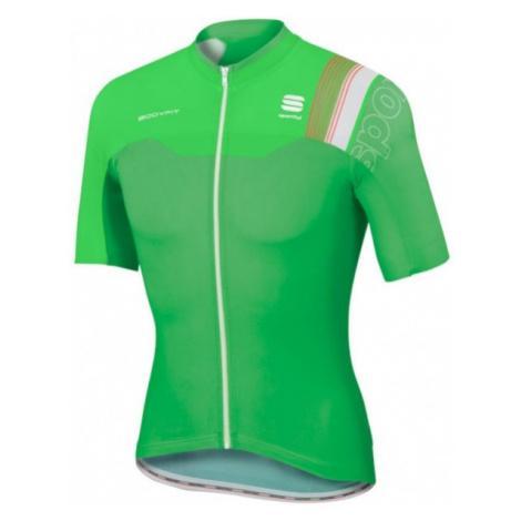 Sportful B FIT PRO RACE JER zelená - Cyklistický dres