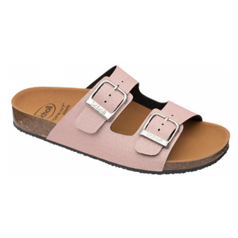Scholl Zdravotní obuv - GREENY MALAREN RecPET-W - Glittered Pink