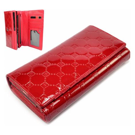 Dámská velká peněženka červená Pierre Cardin