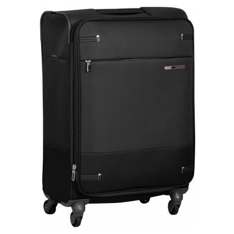 Černý textilní kufr Samsonite