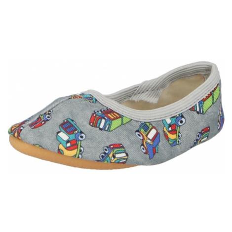 BECK Pantofle šedá / mix barev
