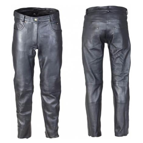 Dámské kožené moto kalhoty W-TEC Annkra NF-1250 Barva černá
