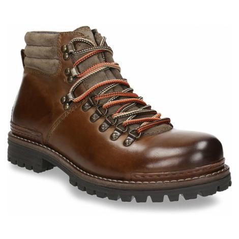 Kožená zimní obuv pánská Baťa
