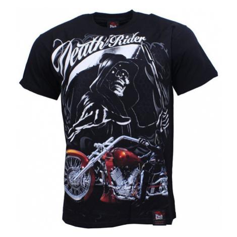 BLACK HEAVEN tričko pánské DEATH RIDER oboustranný potisk BLACK HAVEN
