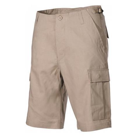 Kalhoty krátké BDU RipStop béžové Max Fuchs